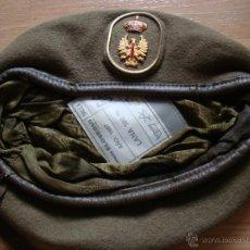Militaria: BOINA EJERCITO DE TIERRA, EJERCITO ESPAÑOL, BOINAS ELOSEGUI, T- 56, BUENAS CONDICONES. Lote 42918720