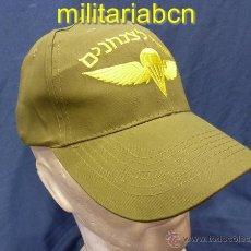 Militaria: ISRAEL. GORRA TIPO BÉISBOL DEL TZAHAL, EJÉRCITO ISRAELÍ. TROPAS PARACAIDISTAS.. Lote 43051778