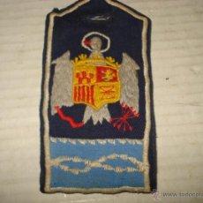 Militaria: ANTIGUA HOMBRERA GALLETA DE TELA BORDADA DE ALGUN MANDO DE FALANGE. Lote 43064164