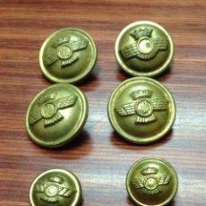 Militaria - Lote 8 botones militares - 43157837