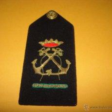 Militaria: ANTIGUA GALLETA HOMBRERA BORDADA EN HILO METALICO DE LA ARMADA MARINA. Lote 43324036