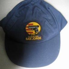 Militaria: GORRA CLUB DE TIRO SAN JORGE - NUEVA. Lote 43602530
