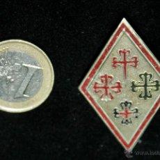 Militaria: ROMBO DE PECHO PARA LA GUARDIA REAL DE ALFONSO XIII,ORDENES DE CABALLERIA,CATEGORIA DE SUBOFICIAL. Lote 46613788