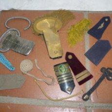 Militaria: GRAN LOTE DE HOMBRERA MILITARES ANTIGUAS, VARIEDAD... HOMBRERAS. Lote 43761961