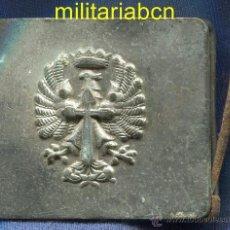 Militaria: HEBILLA DEL EJÉRCITO DE TIERRA. EPOCA DE FRANCO.. Lote 43766885