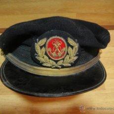 Militaria: GORRA DE MEDICO DE LA MARINA MERCANTE - ETIQUETA CARMEN PUIG - BARCELONA. Lote 44916948