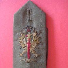 Militaria: HOMBRERA BORDADA. EPOCA DE FRANCO. ... Lote 45101341