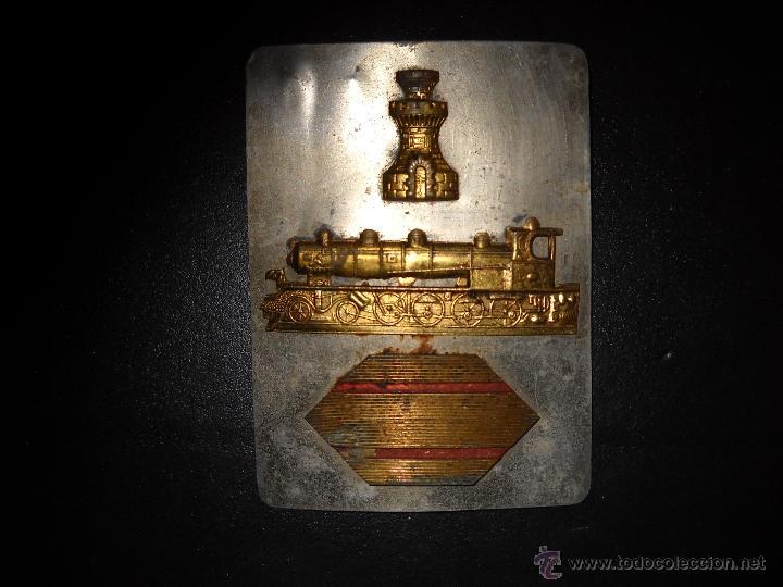Militaria: identificador de sargento,trenes,ingeniería. - Foto 2 - 45117789