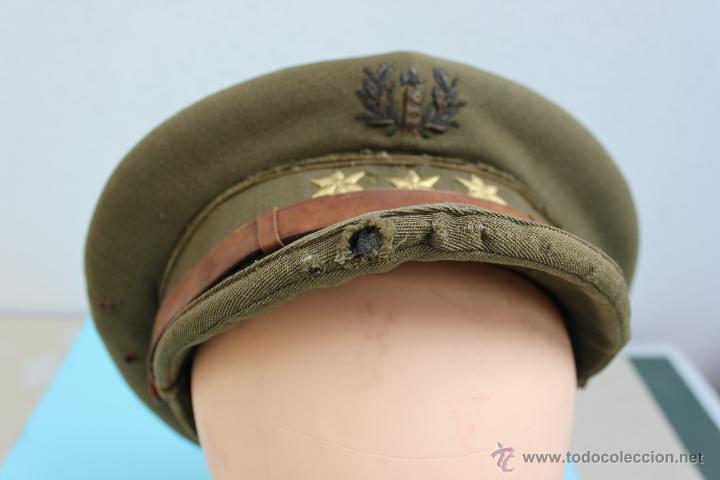 Militaria: GORRA CAPITAN CUERPO JURIDICO GUERRA CIVIL - Foto 9 - 45261896