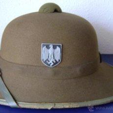 Militaria: SALAKOT ALEMAN DEL AFRICA KORPS , ORIGINAL Y COMPLETO. Lote 45289241