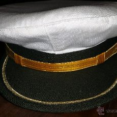 Militaria: GORRA DE PLATO DE SANIDAD MILITAR NUEVA A ESTRENAR TALLA 58. Lote 45327901