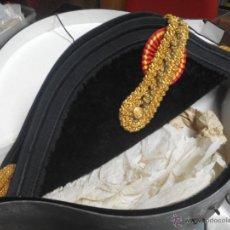 Militaria: PRECIOSO BICORNIO EPOCA ALFONSO XLLL EN PERFECTO ESTADO. Lote 45525661