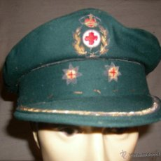 Militaria: GORRA TENIENTE CORONEL CRUZ ROJA ESPAÑOLA. Lote 45865161
