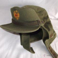 Militaria: ANTIGUA GORRA EJERCITO ESPAÑOL MANUFACTURAS VALLE TALLA 58. Lote 45992305