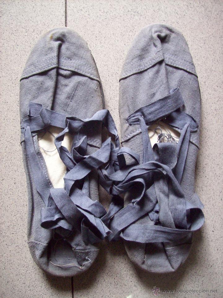 ALPARGATAS EJERCITO ESPAÑOL (Militar - Botas y Calzado)