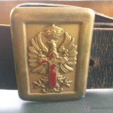 Militaria: ANTIGUO CINTURON CINTO ,GUARDIA CIVIL,EJERCITO. Lote 46387826