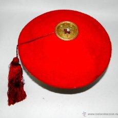 Militaria: BOINA CON BORLA DE MIEMBRO DE LA SECCION DE ESCOLTA PERSONAL DEL GENERALISIMO, REGIMIENTO DE LA GUAR. Lote 46423357