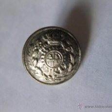 Militaria: BOTON PEQUEÑO DE ADUANAS DE ALFONSO XIII. 15 MM. Lote 46535596
