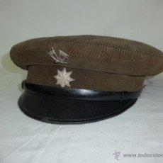 Militaria: GORRA DE PLATO DE PANA ORIGINAL, ALFONSO XIII, REPUBLICA Y GUERRA CIVIL, COMANDANTE DE CABALLERIA. Lote 46733772