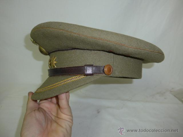 Militaria: Gorra de plato de coronel de artilleria, original, Guerra civil y Republica - Foto 3 - 46734689