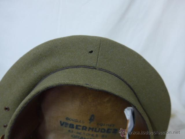 Militaria: Gorra de plato de coronel de artilleria, original, Guerra civil y Republica - Foto 9 - 46734689