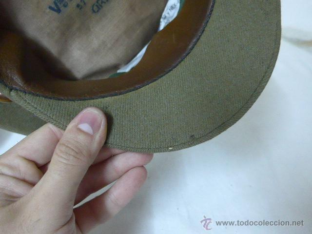 Militaria: Gorra de plato de coronel de artilleria, original, Guerra civil y Republica - Foto 11 - 46734689