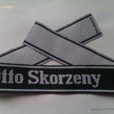 Militaria: PARCHE DE BRAZO SS OTTO SKORZENY. III REICH. 2ª GUERRA MUNDIAL. ALEMANIA. 1939-1945. Lote 46739971