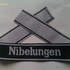 Militaria: PARCHE DE BRAZO PANZER DIVISION SS NIBELUNGEN. III REICH. 2ª GUERRA MUNDIAL. ALEMANIA. 1939-1945. Lote 46740008