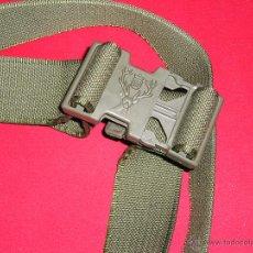 Militaria: MAGNIFICO CINTURON VERDE MILITAR NUEVO. Lote 47039016