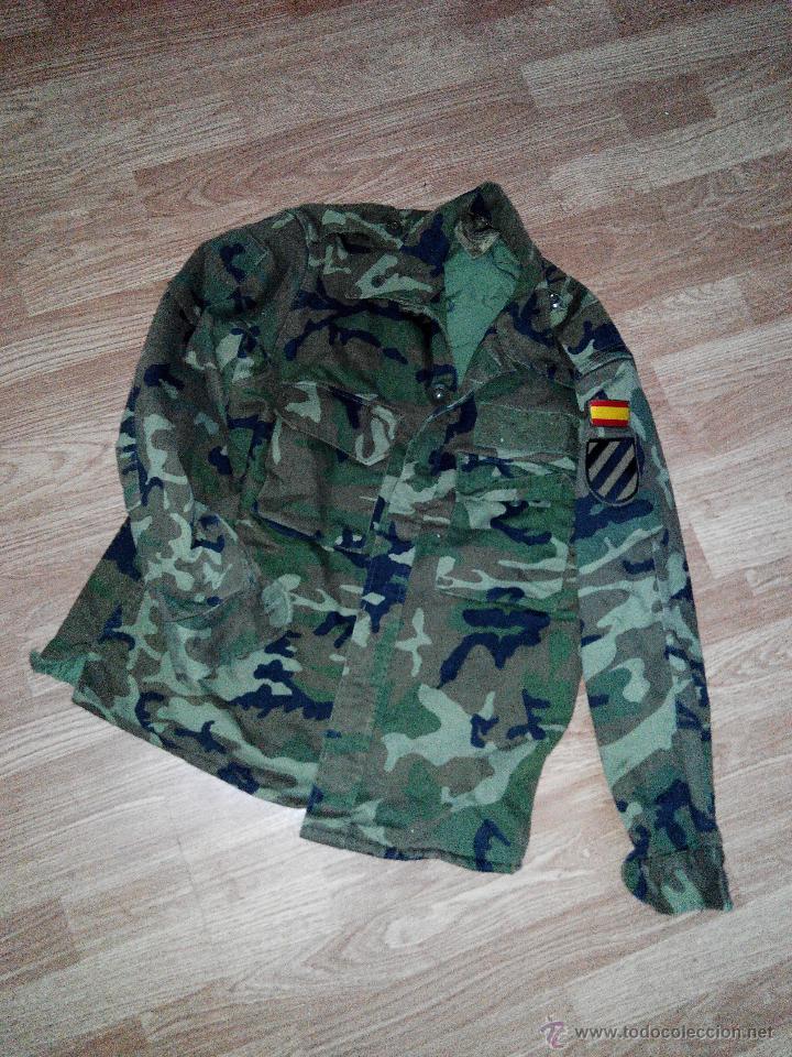 CAMISOLA UNIFORME DE FRIO MILITAR ROPA MILITAR EJERCITO DE TIERRA COLECCION UNIFORME CAMPAÑA CAZA (Militar - Otros relacionados con uniformes )
