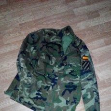 Militaria: CAMISOLA UNIFORME DE FRIO MILITAR ROPA MILITAR EJERCITO DE TIERRA COLECCION UNIFORME CAMPAÑA CAZA. Lote 47469664