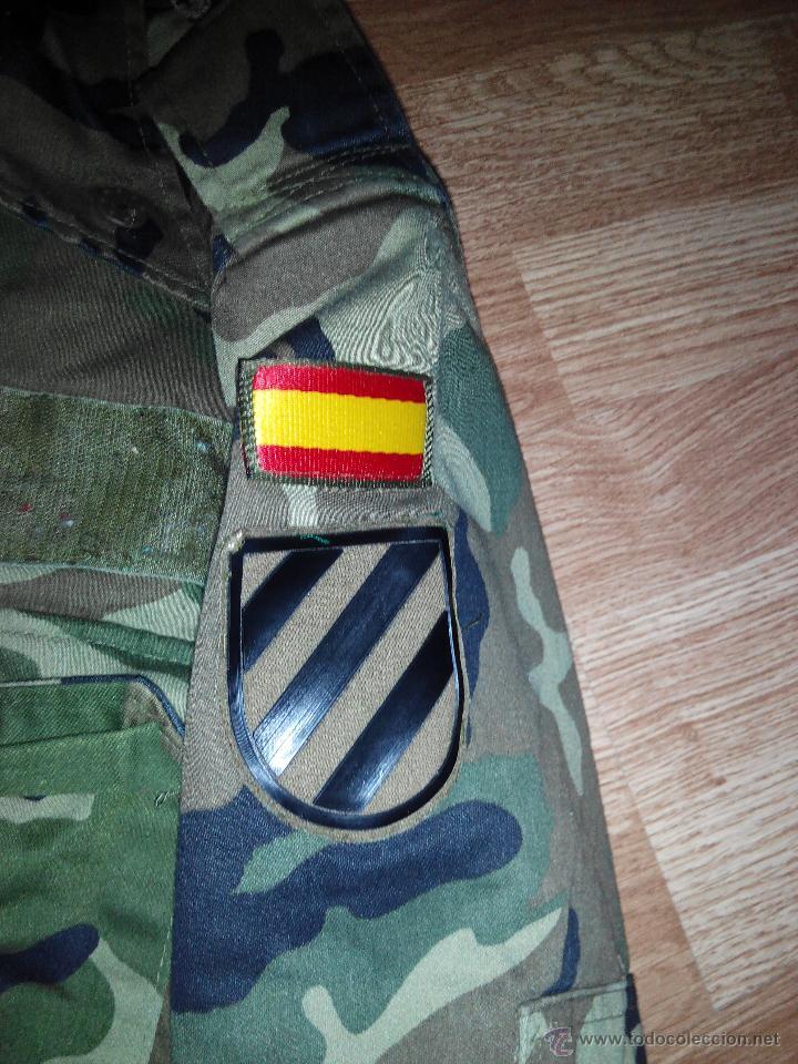 Militaria: CAMISOLA UNIFORME DE FRIO MILITAR ROPA MILITAR EJERCITO DE TIERRA COLECCION UNIFORME CAMPAÑA CAZA - Foto 2 - 47469664