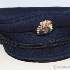 Militaria: ANTIGUA GORRA POLICIAL. CUERPO NACIONAL DE POLICÍA. TALLA 56. INDUYCO. Lote 47525823