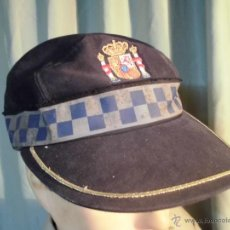 Militaria: GORRA DE FAENA POLICIA LOCAL. Lote 47638373