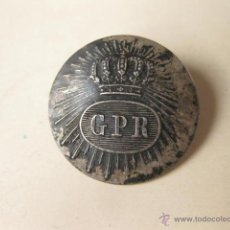 Militaria: BOTON GRANDE LA LA GUARDIA REAL PERSONAL DE FERNANDO VII. Lote 47701780