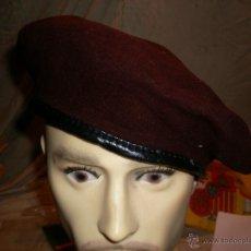 Militaria: POLICIA NACIONAL - BOINA MARRÓN. Lote 103870762