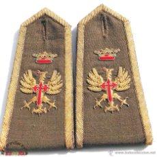 Militaria: HOMBRERAS ÉPOCA FRANQUISTA, PERFECTO ESTADO. Lote 47855198