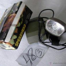 Militaria: ANTIGUA LAMPARA BEREC MANOS LIBRES. Lote 48703197