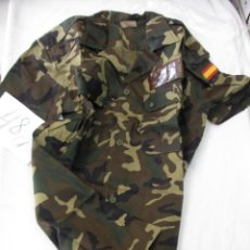 Militaria: CAMISA MILITAR DE CAMUFLAJE MANGA CORTA TALLA 3 . Lote 48703275