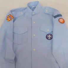 Militaria: CAMISA SCOUT ARAGON CASTORES TALLA 32. Lote 48851410