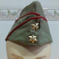 Militaria: GORRO CUARTELERO EJERCITO ESPAÑOL TIPO PLÁTANO EMPLEO TENIENTE (AÑOS 60). Lote 74166035