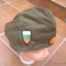 Militaria: BULGARIA. GORRA CUARTELERA.ORIGINAL. Lote 49172794