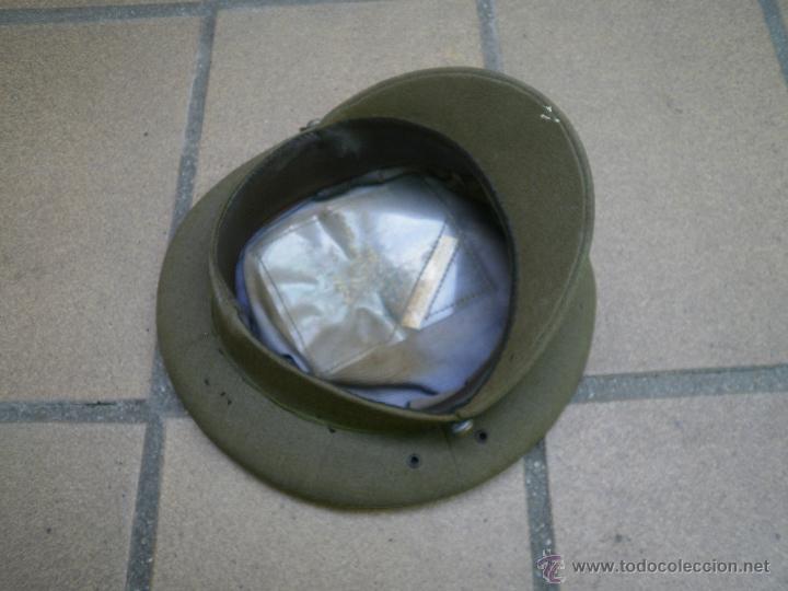 Militaria: Gorra de plato capitán del ejército español. Reglamento 1943 - Foto 5 - 49178096