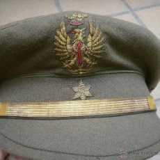 Militaria - Gorra de plato alférez del ejército español. Modelo alemán - 49178264