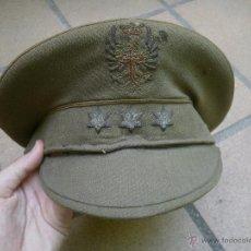 Militaria: GORRA DE PLATO CAPITÁN DEL EJÉRCITO ESPAÑOL. REGLAMENTO 1943. Lote 49178556