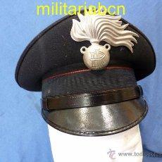 Militaria: ITALIA. GORRA DE PLATO DE LOS CARABINIERI. TALLA 54.. Lote 171491614