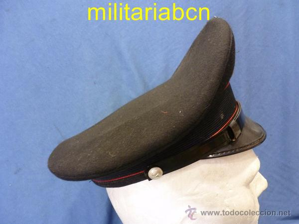 Militaria: Italia. Gorra de plato de los Carabinieri. Talla 54. - Foto 2 - 171491614