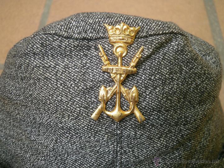 Militaria: Gorrilla de faena Infantería de Marina. - Foto 3 - 49412396