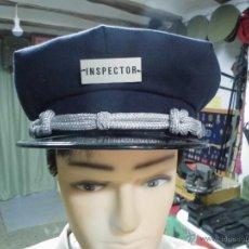 Militaria: GORRA DE PLATO DE PICOS PARA INSPECTOR. Lote 50249715