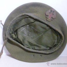 Militaria: BOINA MILITAR DE EJÉRCITO ESPAÑOL DE LOS AÑOS 80/90. Lote 49600763